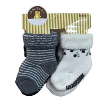 2017 Newborn Baby Socks Cotton Baby Boy Girl Sock Casual Winter Calcetines Meias Bebes Infantil Socks Anti Slip For Children(China)