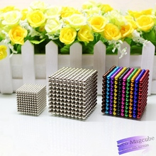 3mm 5mm 1000pcs Magnetic Neodymium Magic Cube Bucky Puzzle Magcube Balls Neo Cube Toys for Adults with Metal Box(China)