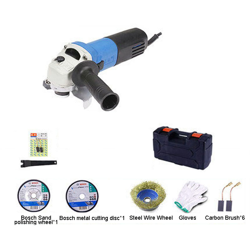 220V 710W 13000r/min 100mm Angle Grinder Machine for welding Cutting and  Polishing Metal electric grinder <br>