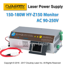 150-180W CO2 Laser Power Supply Monitor AC90-250V EFR Tube for CO2 Laser Engraving Cutting Machine HY-Z150