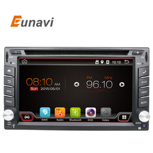 Eunavi Universal 2 din Android 6.0 Car DVD player GPS+Wifi+Bluetooth+Radio+DDR3+ Touch Screen+3G+car pc+aduio 16G Quad Core