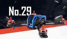"DIY mini FPV drone MANGO C029 210mm 5"" pure carbon fiber frame unassembled 4mm wing arm main plate(China)"