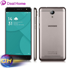 "6.0"" Original Doogee X7 Pro 4G LTE Smartphone Android 6.0 MTK6737 Quad Core 2GB+16GB 1280*720 8.0MP 3700mAh Battery"