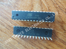 free shipping 1pcs/lot ATMEGA328P-PU CHIP ATMEGA328 Microcontroller MCU AVR 32K 20MHz FLASH DIP-28