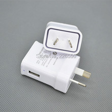 Sample 2pcs For Australia New Zealand 2A AU Plug USB AC Power wall home charger for Samsung Galaxy Note N7100 S3 S4 S5