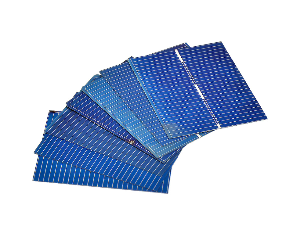 Aoshike 100pcs 0.5V 0.2W Polycrystalline Solar Panel 39*31.2 mm Solar Cell Silicon DIY Solar Charger Battery Painel Solar 5