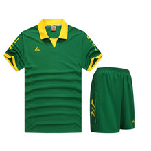 2018 New boys men football jerseys Clothing Youth Kids soccer jersey set shorts shirts sportswear teens kits DIY Printing Custom(China)