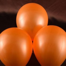 Promotional balloons 12inch 2.8g orange latex balloons wedding birthday party decoration supplies baby happy birthday toy ballon(China)