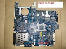 Hot sale MBAJ702003 MB.AJ702.003 ICW50 LA-3581P laptop motherboard for Acer 5520 AMD DDR2 MCP67MV-A2 full tested Mainboard