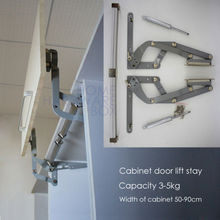 cabinet door vertical swing lift up stay pneumatic arm kitchen mechanism hinges(China)