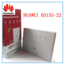 Unlocked Huawei B315 B315s-22 + 49 DBI 4G Antenna 150Mbps CAT4 4G cpe wifi router 3g 4g mifi CPE wireless Router PK HUAWEI B593(China)