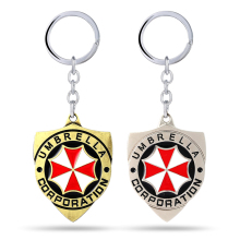 Resident Evil Key Chain Red Umbrella Key Rings For Gift Chaveiro Car Keychain Jewelry Game Key Holder Souvenir YS11237(China)