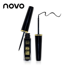 NOVO Brand Waterproof Eyeliner Pencil Black Eye Lapis Pen Beauty Makeup Liquid Eye Liner Delineador Shadow Make Up Cosmetic