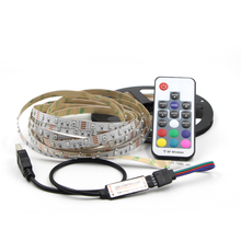 USB RGB LED Strip 3528 Flexible Adhesive Tape Multi color Changing Lighting Kit for Flat Screen HDTV LCD Desktop PC Monitor