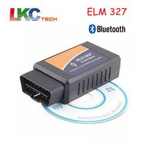 2017 lowest price Elm 327 Bluetooth Car Scan Tool ELM327 Bluetooth OBDII V2.1 CAN-BUS Diagnostic Scanner obd 2 Free Shipping(China)