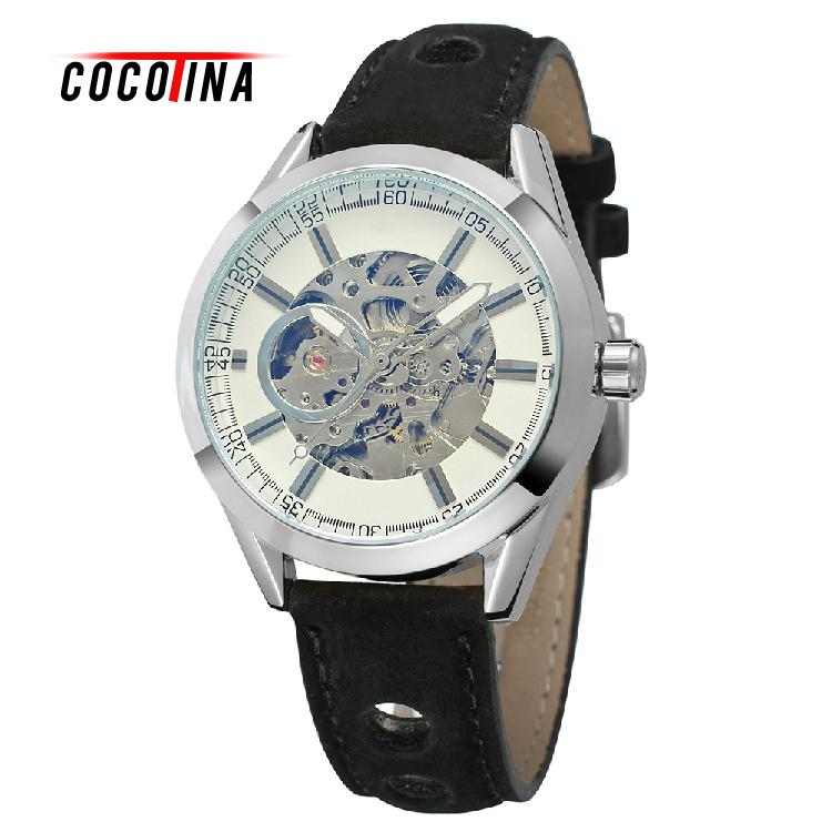 COCOTINA Automatic Mechanical Watch Mens Watches Hot WristWatch For Man Relogio Masculino LJX9615<br>