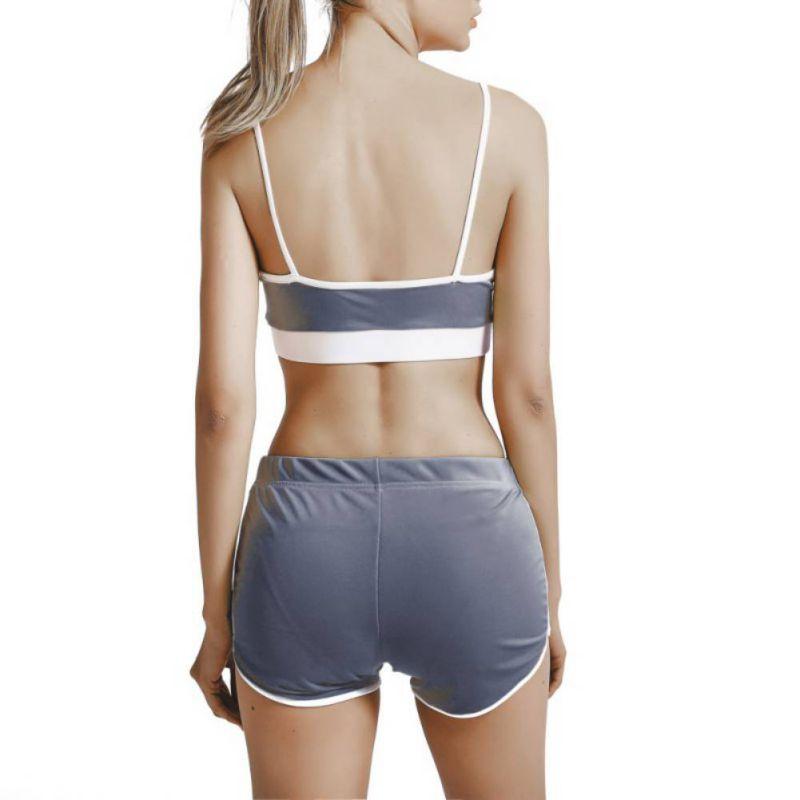 Sport Suit Tracksuit Bra+Short Sportswear 11