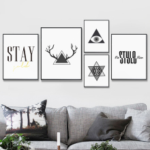 Nordic Black White Minimalist Aluminum Alloy Metal Photo Frame A4 Poster Kids Wall Art Print Picture Canvas Deco Frame Painting(China)