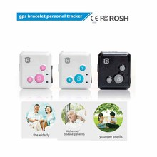 RF-V16 Mini GSM GPRS GPS Tracker SOS Communicator  for Kids Child Elderly Personal lifetime web APP Tracking Two-way Talk