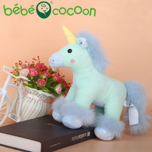 Bebecocoon Kawaii Unicorn Plush Lovely Unicornio Pelucia Stuffed Kids Soft Toy for Boys Girls Gift For Unicorn Toy(China)