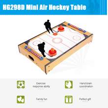 HG298D Mini Air Hockey Table Game Table Intelligence Activities Educational Toys Gift Fun Table Sports Toy for Kid 2017 New(China)