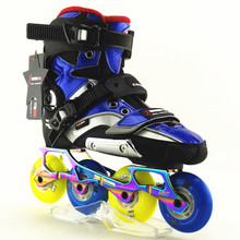 slalom R5 RS ROLLER skates shoes inline Roller Skating Shoe High Quality freeline skate(China)