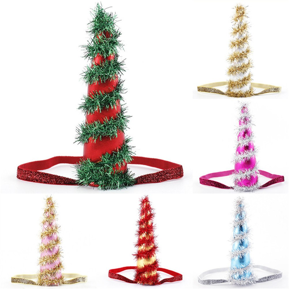 Hairband Rainbow Unicorn Horn Hairband Unicorn Bonus For Party DIY ...
