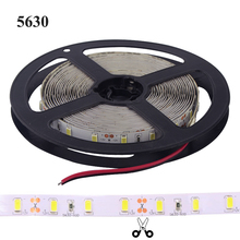 Firecore 5M 5630 SMD Flexible LED Strip Light 12V 60Leds/m Waterproof White/Warm/Cold White/Red/Green/Blue/Led Strips
