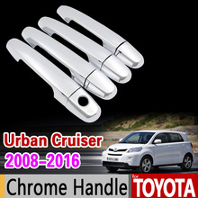 Buy Toyota Urban Cruiser 2008 2016 Chrome Handle Cover XP110 Scion xD ist 2009 2011 2013 2015 Accessories Stickers Car Styling for $15.64 in AliExpress store