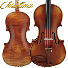 Italy Christina Violin V09 Master violino 4/4 Italian High-end Antique professional violin musical instrument fiddle bow,rosin
