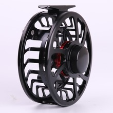 HVC 9/10 wt Fly Fishing Reel  Exclusive Super Light  CNC Machine Cut  Large Arbor Aluminum Fly reel