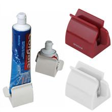 New Arrival Bathroom Set Accessories Rolling Tube Tooth Paste Squeezer Toothpaste Dispenser Toothpaste Clip Holder IC885851(China)