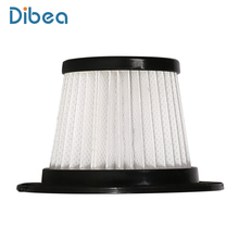 Hepa Filter For Dibea C17 Cordless Stick Vacuum Cleaner Handheld Dust Collector Household Aspirator(China)
