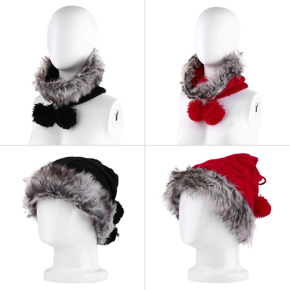 Popular New Fashion 2 in 1 Cap Neck Thermal Unisex Winter Wind Stopper Soft Knitting Crochet Hat Collar Neck Warmer New ApparelÎäåæäà è àêñåññóàðû<br><br><br>Aliexpress