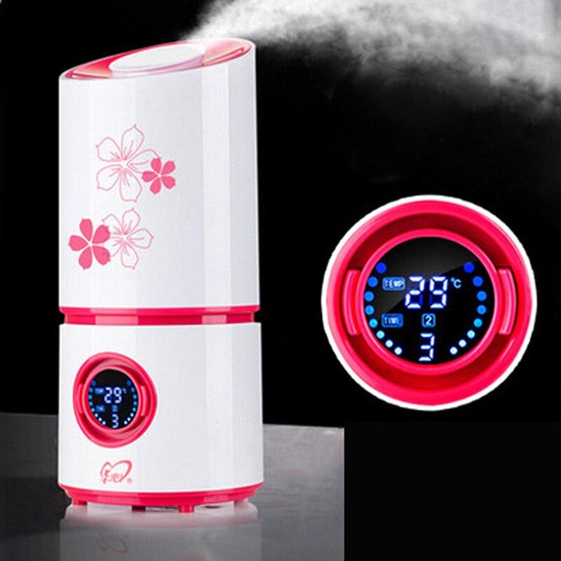 Aroma Diffuser Nebulizer Ultrasonic Humidifier Mute Home Air Humidifier Mini Ultrasonic Sterilization Oxygen Bar, Aromatherapy<br><br>Aliexpress