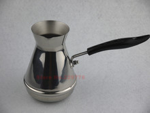 High-quality stainless steel Turkish coffee pot ibrik Coffee brewer goosenck spout kettle coffee brewer(China)