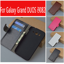 Wallet Case For Samsung Galaxy Grand Neo Plus I9060i I9060 GT gt-I9060i Cover For Samsung i9082 GT-i9082 i9080 Case Phone Cover(China)