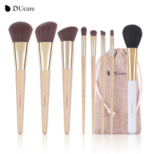 DUcare Makeup Brushes  8pcs Bamboo Foundation Eyeshadow Concealer Eyeliner Brushes Cosmetic kwasten make up