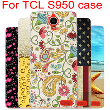 New Fashion Design Paiting Back Cover Case For Alcatel One Touch Idol X 6040 6040A 6040D Cover For TCL S950 Phone Cases Hot Sale