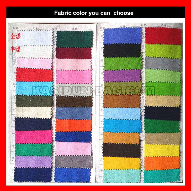 shopping bag fabric color