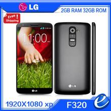 "Original LG G2 F320 D802 D800 EU version Unlocked Mobile Phone Quad Core Android 4.2 13MP 5.2"" IPS 32GB ROM Refurbished Phone"