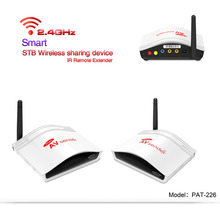 PAT-226 2.4G 150m Wireless AV RCA Audio Video Swtich Transmitter Receiver Sender + IR Extended For Android Satellite Cable TV