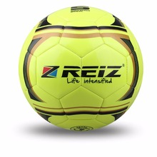 High Quality Official Size 5 Standard PU Soccer Ball Training Football Balls Indoor&Outdoor With  Gift Net Needle Yellow blue