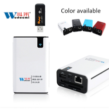3G WIFI Router Wireless Card Reader TF/SD/MS/CF Power Bank 7800mah For Any Smart phones USB Network Storage
