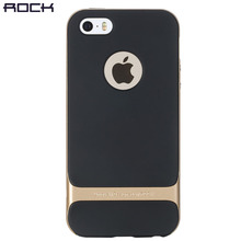 ROCK Luxury Royce Case For iPhone SE 5 5S Slim Armor cover shell Brand Back case for iPhone 5s SE(China)