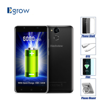 Original Blackview P2 MTK6750T Octa Core Android 6.0 Mobile Phone 5.5 Inch Cell Phone 4G RAM 64G ROM Fingerprint 4G Smartphone