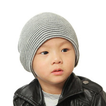 Kids Caps for Boy Girls Soft Children Spring Summer Hat Kids Knitted Hats for Girls 4 Months-4 Yrs(China)