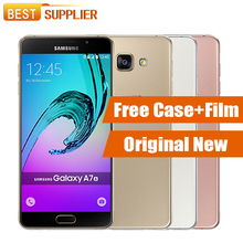 "Original Samsung Galaxy A7 2016 A7100 3GB RAM 16GB ROM Dual SIM 3300mAh Octa Core Fingerprint NFC 13.0 MP 5.5"" Mobile Phones"