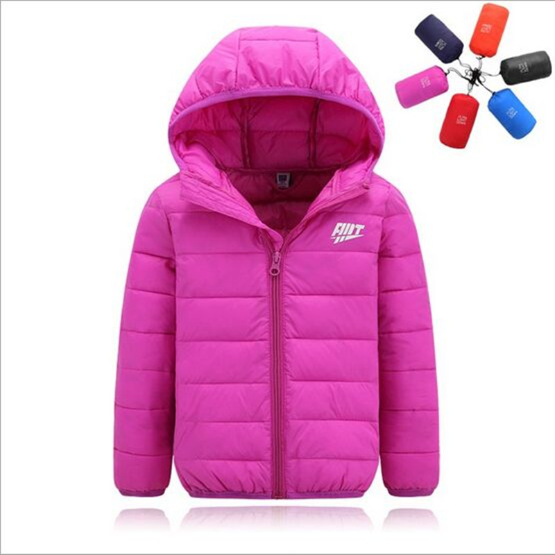 2017 New Arrive Winter Jacket Girl Fashion Hooded Girls padded Coats Cotton Boy Children Jackets 6 Color For 3-8yearОдежда и ак�е��уары<br><br><br>Aliexpress