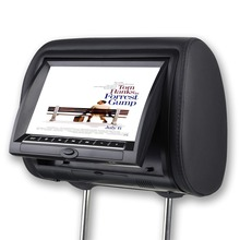 9 Inch Digital Car Headrest DVD Player Monitor Built-in Speaker Support USB SD Games Remote Control